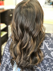 Balayage Beauty with Extensions