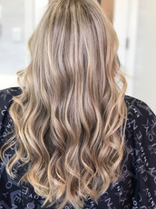 Glam Hair with Extensions