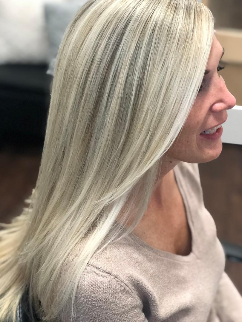 Ice Blonde Beauty