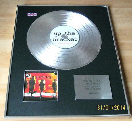 THE LIBERTINES - CD Platinum Disc - UP THE BRACKET