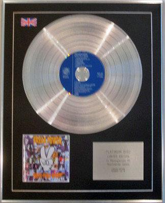 FREAK POWER  - Ltd Edition CD Platinum Disc - DRIVE THRU BOOTY