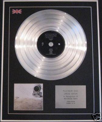 LCD SOUNDSYSTEM - Ltd CD Platinum Disc- SOUND OF SILVER