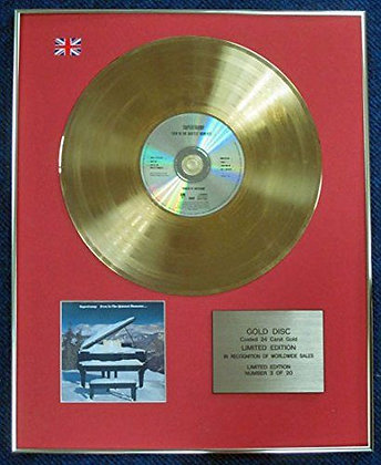 Supertramp - Limited Edition CD 24 Carat Gold Coated LP Disc - Even in?