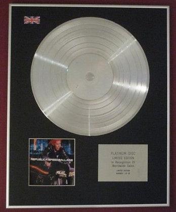 REPUBLICA  -  Platinum Disc - SPEED BALLADS