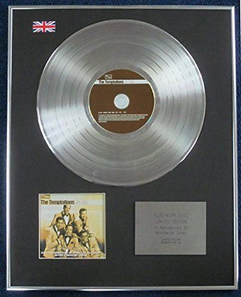 The Temptations - Limited Edition CD Platinum LP Disc - My Girl