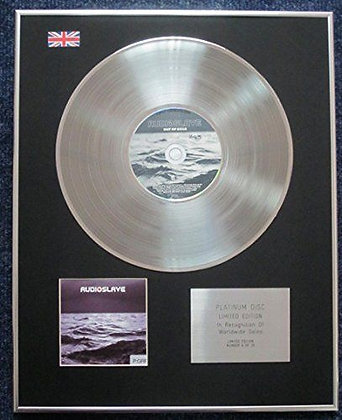 Audioslave - Limited Edition CD Platinum LP Disc - Out of Exile