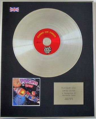 PORNO FOR PYROS - Limited Edition CD Platinum Disc