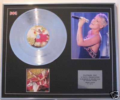 PINK - CD Platinum Disc+Photo - FUNHOUSE