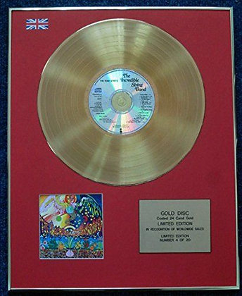 The Incredible String Band - CD 24 Carat Gold Coated LP Disc - The 5000…