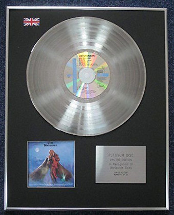 Jim Steinman - Limited Edition CD Platinum LP Disc - Bad for Good