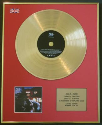 BAT FOR LASHES - CD 24 Carat Gold Disc - FUR AND GOLD