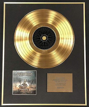 Avantasia - Exclusive Limited Edition 24 Carat Gold Disc - The Wicked Symphony