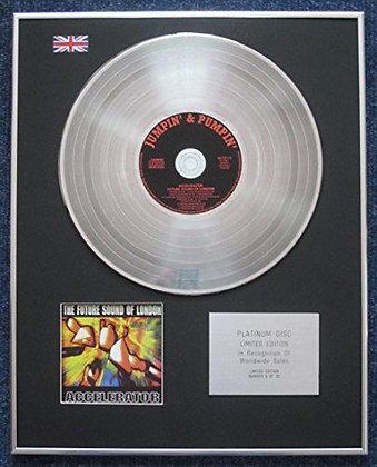 Future Sound of London - Limited Edition CD Platinum LP Disc - Accelerator