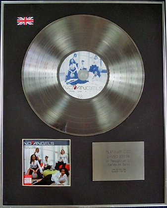 NO ANGELS- Limited Edition CD Platinum Disc - NOW...US!