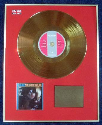 OTIS REDDING - Limited Edition CD 24 Carat Gold Coated LP Disc - OTIS BLUE