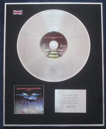 MOTOWN CHARTBUSTERS - Limited Edition CD Platinum LP Disc - VOL 6