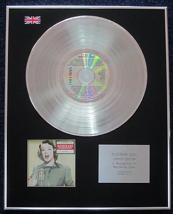 Rosemary Clooney - Limited Edition CD Platinum LP Disc - Best Of