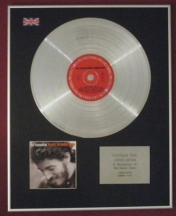BRUCE SPRINGSTEEN - Platinum Disc - THE ESSENTIAL