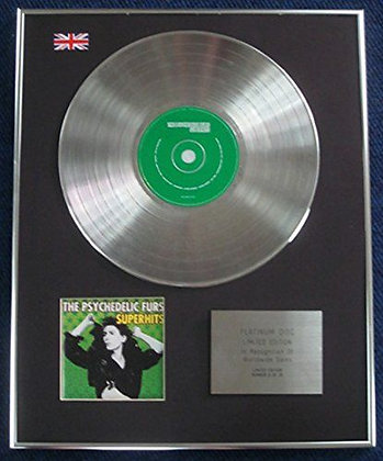The Psychadelic Furs - Limited Edition CD Platinum LP Disc - Super Hits