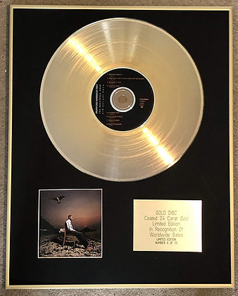 BRANFORD MARSALIS TRIO - Exclusive Limited Edition 24 Carat Gold Disc -THE BEAUT