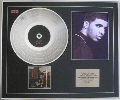 DRAKE - Platinum Disc CD + Photo - TAKE CARE