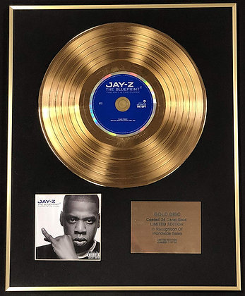 Jay Z - Exclusive Limited Edition 24 Carat Gold Disc - The Blueprint 2