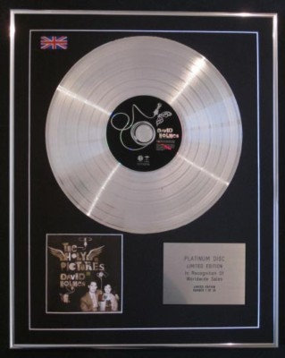 DAVID HOLMES -CD Platinum Disc- THE HOLY PICTURES