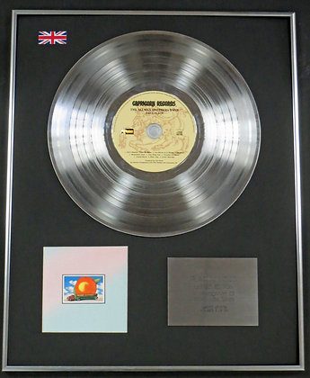 THE ALLMAN BROTHERS - Limited Edition CD Platinum LP Disc -  EAT A PEACH
