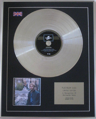 TOM ODELL - Limited Edition CD Platinum Disc - LONG WAY DOWN