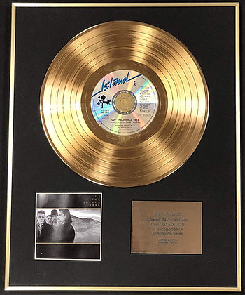 U2 - Exclusive Limited Edition 24 Carat Gold Disc - The Joshua Tree