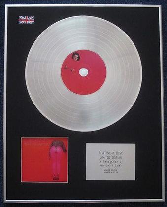ST VINCENT - Limited Edition CD Platinum LP Disc - MASSEDUCTION