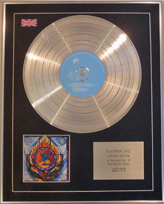 DREADZONE - Limited Edition CD Platinum Disc - SECOND LIGHT