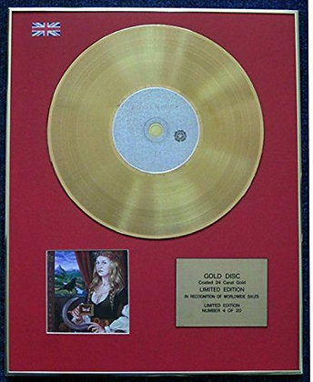 Joanna Newsom - Limited Edition CD 24 Carat Gold Coated LP Disc - Ys