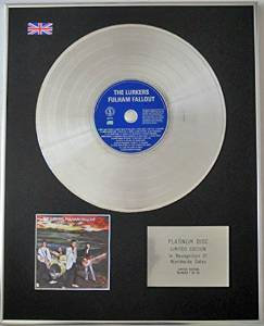 LURKERS - Limited Edition CD Platinum Disc - FULHAM FULLOUT