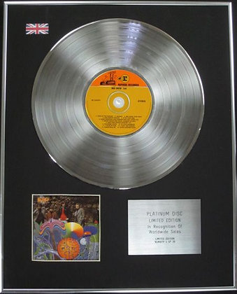 BEE GEES - Limited Edition CD Platinum Disc - BEE GEES 1ST