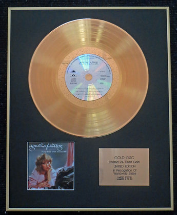 Agnetha Fältskog - Exclusive Edition 24 Carat Gold Disc - Wrap Your Arms…