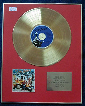 The Saw Doctors - CD 24 Carat Gold Coated LP Disc - All the Way from Tuam