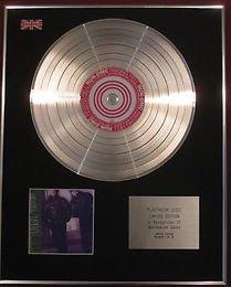 RUN DMC - CD Platinum Disc - RAISING HELL
