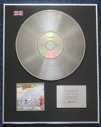 Genesis - Limited Edition CD Platinum LP Disc - Foxtrot
