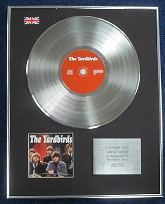 The Yardbirds - Limited Edition CD Platinum LP Disc - 'The Yardbirds'