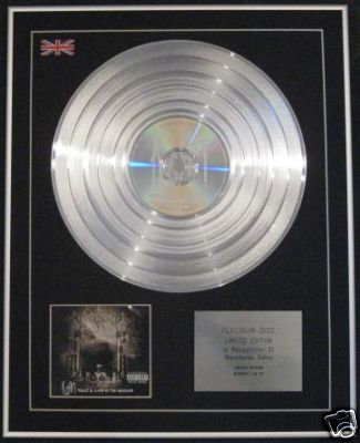KORN - Ltd CD Platinum Disc-TAKE A LOOK IN THE MIRROR