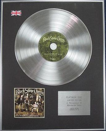 BLACK STONE CHERRY - Limited Edition CD Platinum Disc - FOLKLORE?