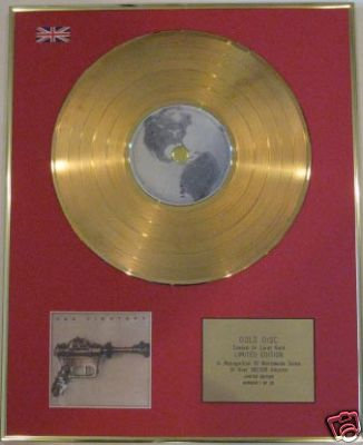 FOO FIGHTERS - Ltd Edt CD Gold Disc - 'FOO FIGHTERS'