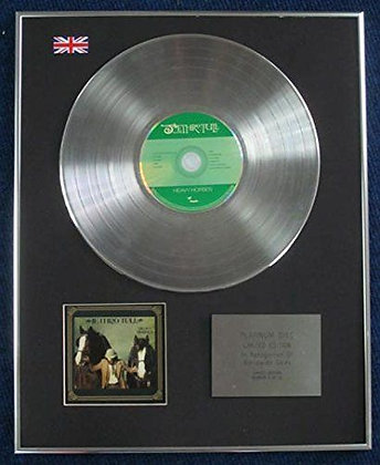 Jethro Tull - Limited Edition CD Platinum LP Disc - Heavy Horses