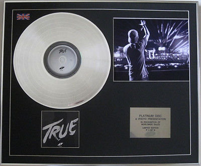 AVICII  -  CD Platinum Disc + Photo - TRUE