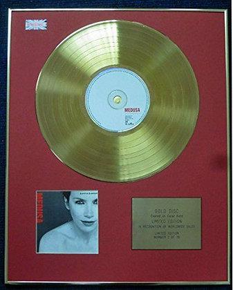 Annie Lennox - Limited Edition CD 24 Carat Gold Coated LP Disc - Medusa