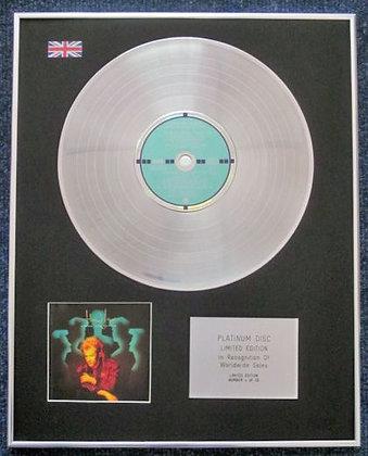 HOWARD JONES - Limited Edition CD Platinum LP Disc - DREAM INTO ACTION