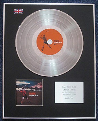Runrig - Limited Edition CD Platinum LP Disc - Everything you see