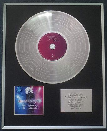Helene Fischer - Limited Edition CD Platinum LP Disc - Farbenspiel Live