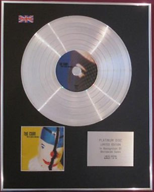 The CURE - CD Platinum Disc - WILD MOOD SWINGS